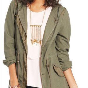 American Rag green utility jacket
